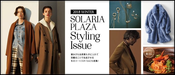 2018 WINTER SOLARIA PLAZA Styling Issue