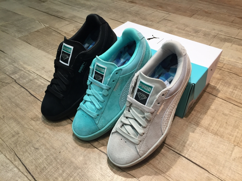 DIAMOND SUPPLY x PUMA SUEDE