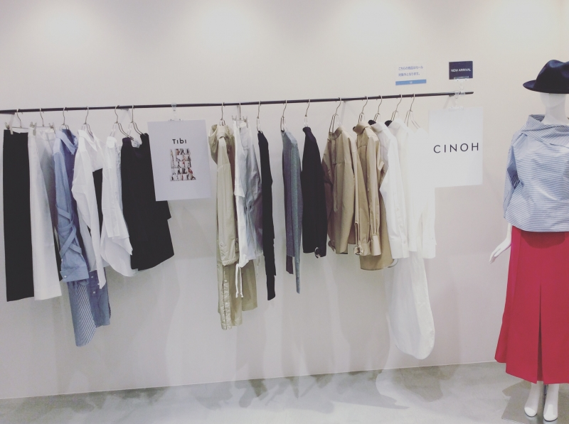 "2/3(金)〜2/10(金)""Tibi""""CINOH""POP-UP"