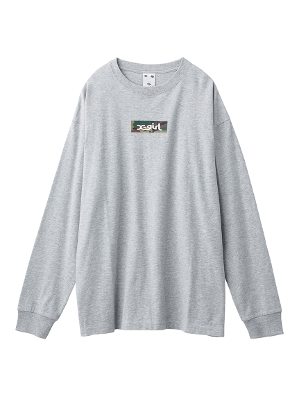 CAMO BOX LOGO BIG L/S TEE
