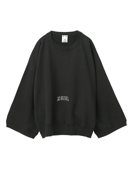 WIDE SWEAT TOP