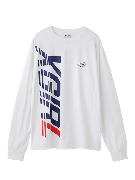 BIG VERTICAL LOGO L/S REGULAR TEE