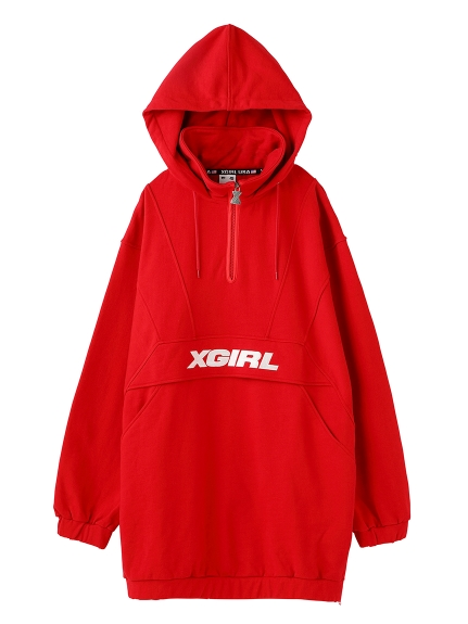 ANORAK SWEAT DRESS