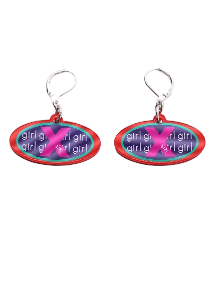 CHANGE LOGO EARRINGS