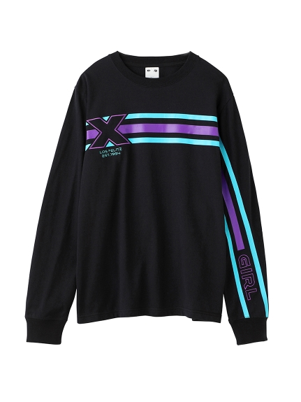 CONNECTED LINE L/S REGULAR TEE