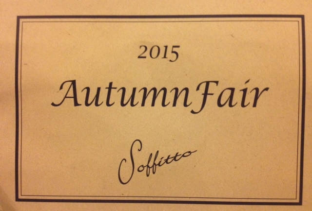 【Autumn Fair】開催!!!