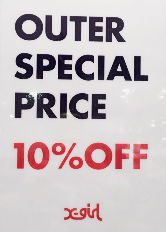 OUTER 10%OFF☆