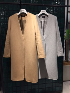☆wool double face nocallor coat☆